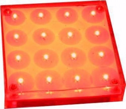 سنگ نورانی مربع ضد آب عدسی داخل مدل PL7D